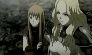 Claymore-Clare and Teresa