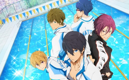 Free! Iwatobi Swim Club 2013 anime series