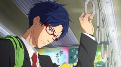 Free!-Iwatobi Swim Club, Rei the new friend