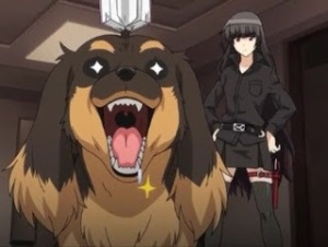 Kazuhito excited over books-Dog and Scissors anime