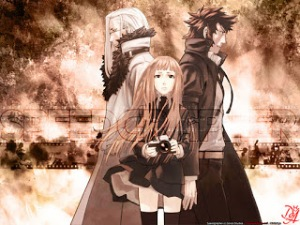 Speed Grapher from Left to Right Suitengu, Kagura center and Saiga.