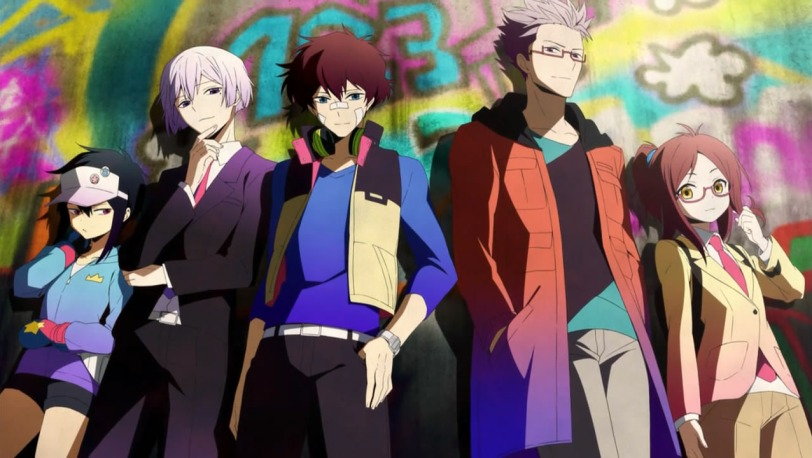 Hamatora anime series main group cast