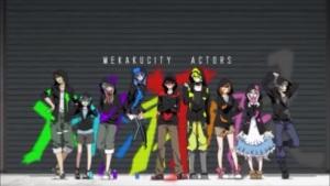 Mekakucity Actors Episode 1-OP theme song