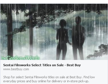 Sentai Filmworks Anime Blowout Sale-April 2014