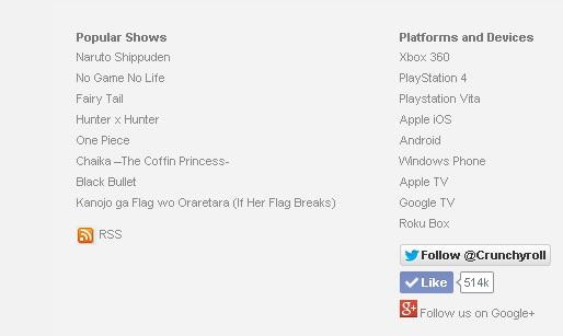 Crunchyroll shows Chaika The Coffin Princess a popular anime tiltle-May 2014