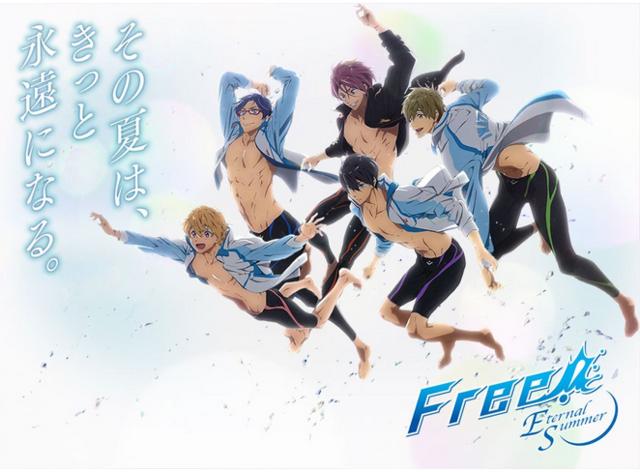 Free! Eternal Summer anime series key visual- Summer 2014