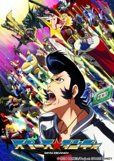 Space Dandy Season 2 -2014 anime series