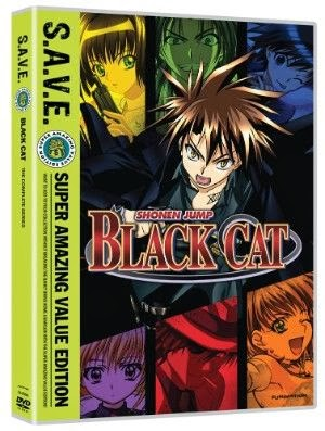Black Cat Complete Series SAVE Edition