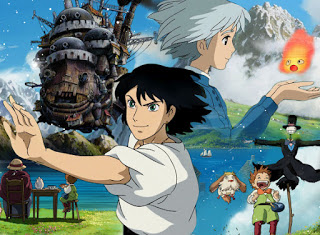 Howl's Moving Castle various character and surroundings' takes