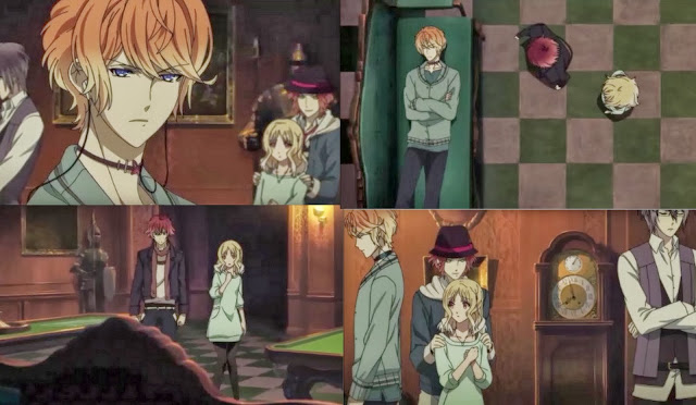 Shu and Ayato fight for Yui-Diabolik Lovers Episode 3