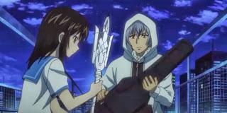Strike the Blood Episode 2- Yukina in action