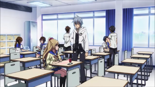 Strike the Blood Episode 3- Kojou asks Asagi for help