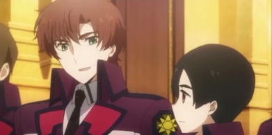 Masaki denies but it is usually when people do in anime when it means the opposite!