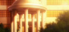 The Irregular at Magic High School Episode 4-Mibu and an unknown figure