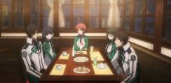 The Irregular at Magic High School Episode 4-Tatsuya and Miyuki with their friends