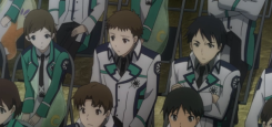 The Irregular at Magic High School Episode 5-Students getting angry over discrimination between magicians being tackled