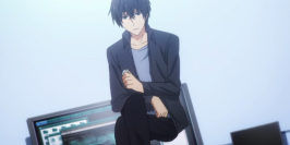 The Irregular at Magic High School Episode 8-Tatsuya shows he can fly with new spell sequence Part 2