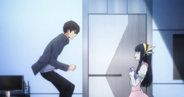 The Irregular at Magic High School Episode 8-Tatsuya shows he can fly with new spell sequence Part 3