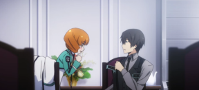 The Irregular at Magic High School Episode 8-Tatsuya testing out his holster for his two Silver Horn guns Part 2