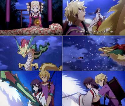 Tokyo Ravens Episode 3- Natsume and Harutora fighting Suzaka Dairenji