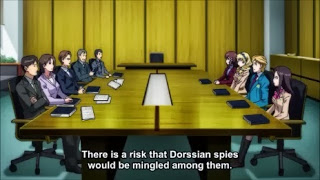 Valvrave the Liberator 2  Episode 1- JIOR governement meetings