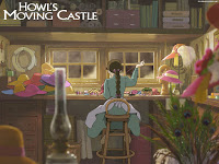 Younger Sophie in Howl's Moving Castle