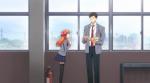 Chiyo refers to Nozaki-kun as Yumeno sensei-Gekkan Shojo Nozaki-kun Episode 1