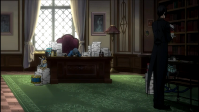 Ciel relaxing-Black Butler 3 Episode 1