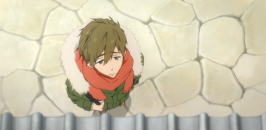 Makoto disappointed-Free! Eternal Summer Episode 1