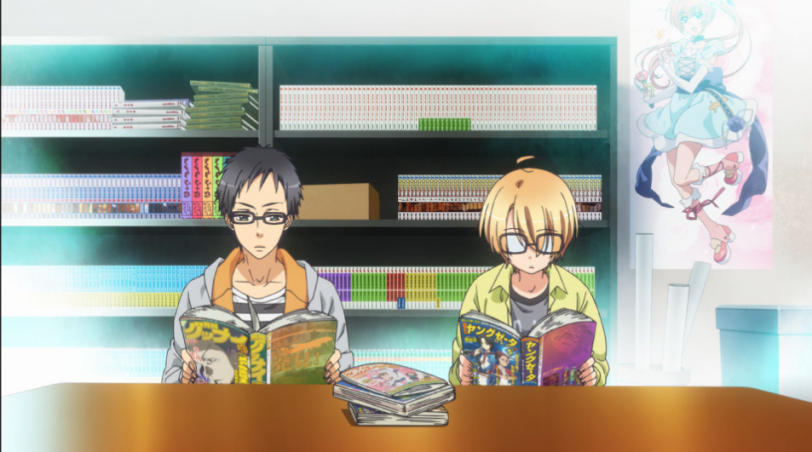 Manga Research Club Part 2-Love Stage!! Episode 1