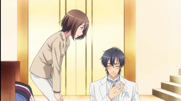 Ryouma happy about Izumi's reaction-Love Stage!! Episode 2