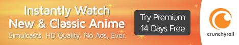 Crunchyroll horizontal banner