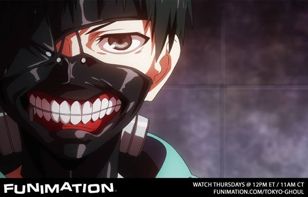Tokyo Ghoul FUNIMATION banner