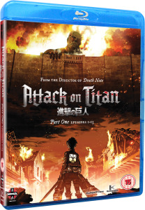 Attack on Titan Part 1 Blu-ray Anime Giveaway (UK)-Flickering Myth