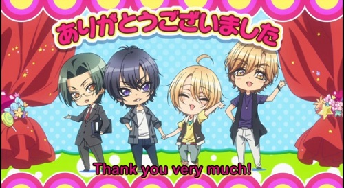 Love Stage!! anime series ending