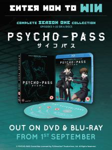 Win Psycho-Pass Season 1 from Flickering Myth