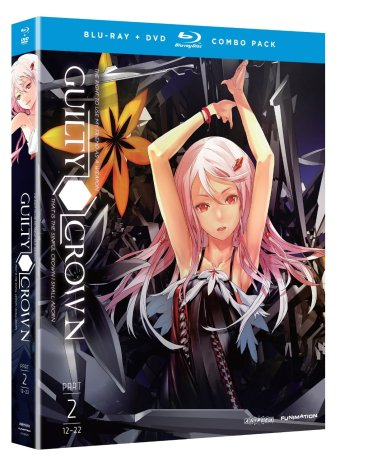 Guilty Crown Part 2 Standard Edition Blu-rayDVD Combo Review