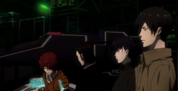 New and old characters-Psycho-Pass 2 Episode #1