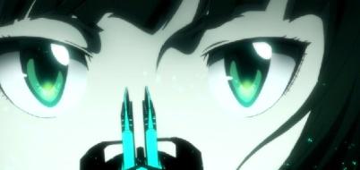 Psycho-Pass 2 Episode 1-Tsunemori engages the Dominator [Scene 2]