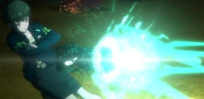 Psycho-Pass 2 Episode 1-Tsunemori engages the Dominator [Scene 4]