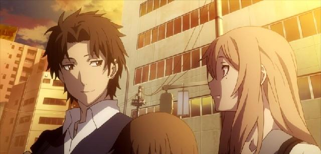 Rinka and Azuma talking together-Tokyo ESP