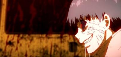 Tokyo Ghoul Episode 2-Kaneki as a Ghoul