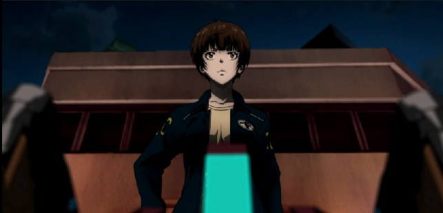 Tsunemori leading her team-Psycho-Pass 2 Episode #1
