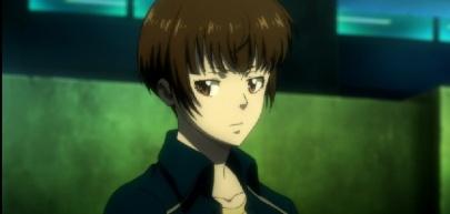 Tsunemori surverying her team members-Psycho-Pass 2 Episode #1