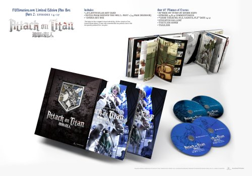 Attack on Titan LE Part with Box-FUNimation Entertainment Anime Release