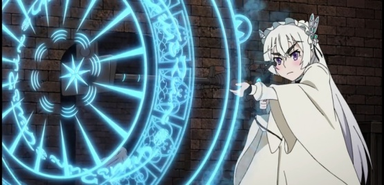Cute Chaika in Chaika The coffin Princess Avenging Battle