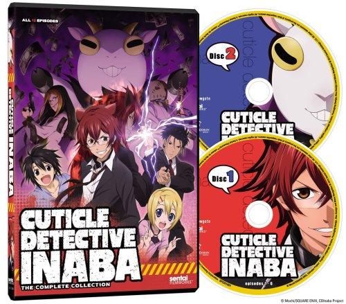 Cuticle Detective Inaba-Sentai Filmworks Anime Release