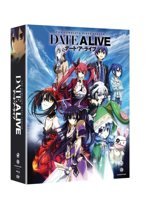 Date A Live Season 1-FUNimation Entertainment Anime Release