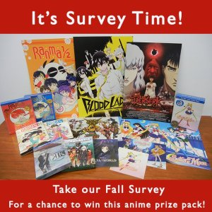 Fall 2014 Anime and Manga Survey-VIZ Media