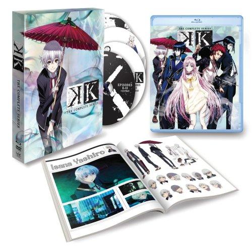 K Limited Edition-VIZ Media North America Anime Release